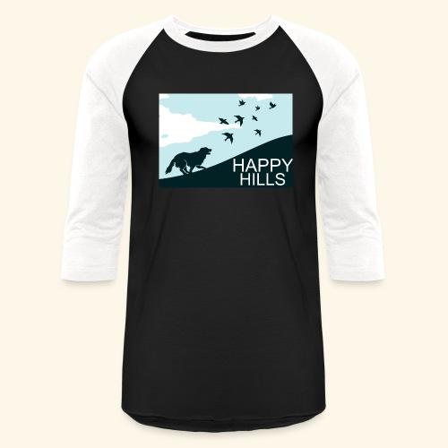 Happy hills - Unisex Baseball T-Shirt