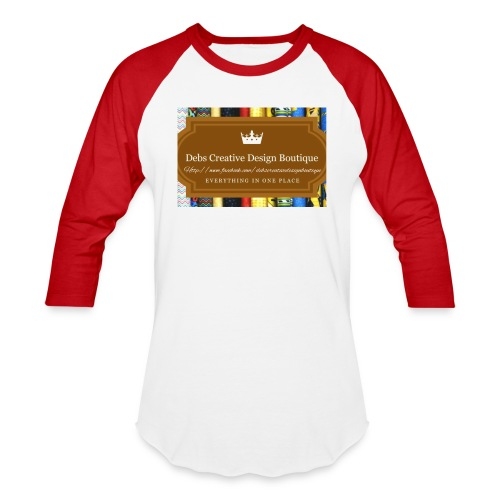 Debs Creative Design Boutique with site - Baseball T-Shirt