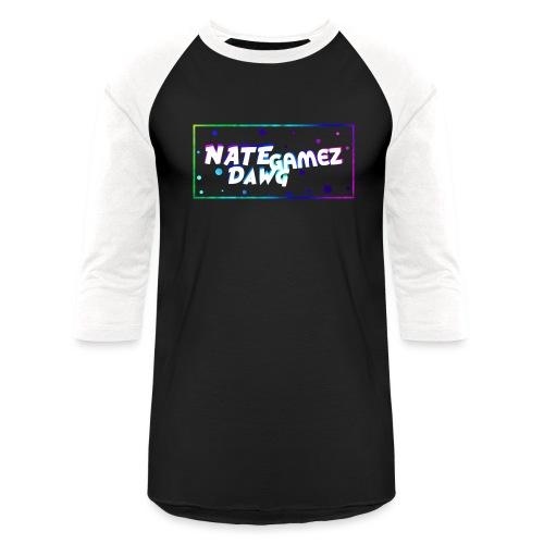 NateDawg Gamez Merch - Unisex Baseball T-Shirt