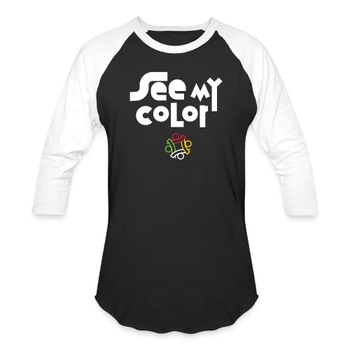 seemycolor print 01 - Unisex Baseball T-Shirt