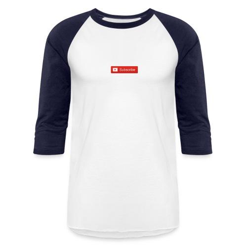 YOUTUBE SUBSCRIBE - Baseball T-Shirt