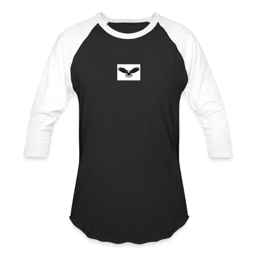 Eagle by monster-gaming - Unisex Baseball T-Shirt