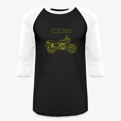 CX500 line drawing - Baseball T-Shirt