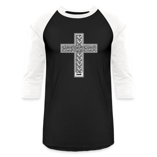 Jesus cross. I'm no longer a slave to fear. - Unisex Baseball T-Shirt