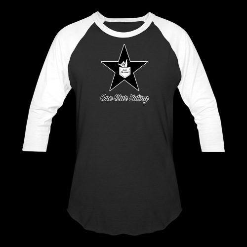 One Star Rating - Baseball T-Shirt