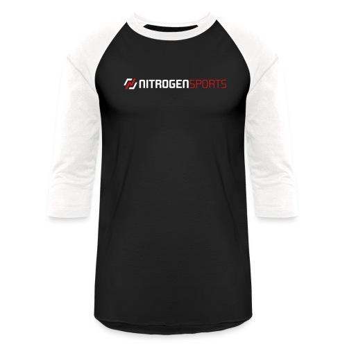 front_logo - Unisex Baseball T-Shirt