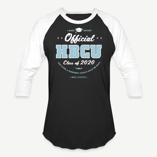 HBCU Graduating Class of 2020 - Unisex Baseball T-Shirt