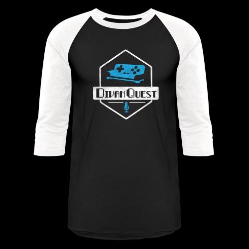 DivanQuest Logo (Badge) - Unisex Baseball T-Shirt