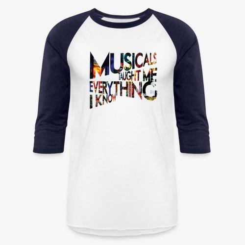MTMEIK Broadway - Unisex Baseball T-Shirt