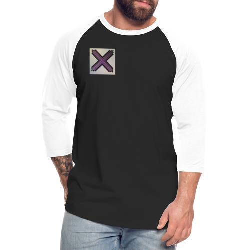 Purple XaRo - Unisex Baseball T-Shirt