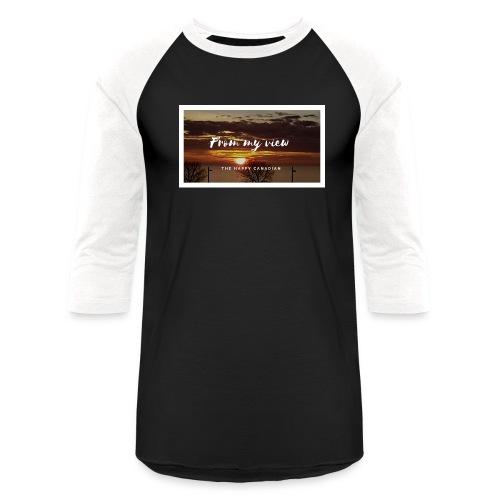 THE HAPPY CANADIAN - Baseball T-Shirt