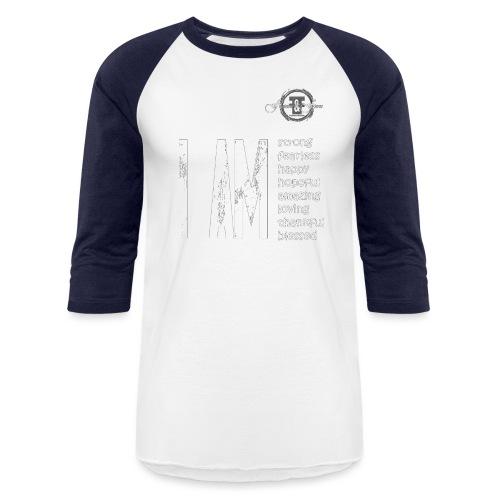 I AM ... Feminine and Fierce - Baseball T-Shirt