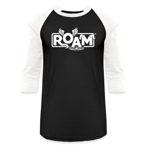 logo ROAM 8 - Baseball T-Shirt