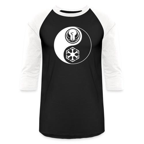 Star Wars SWTOR Yin Yang 1-Color Light - Baseball T-Shirt