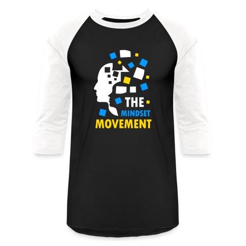 Mindset DesinHD Copy png - Unisex Baseball T-Shirt