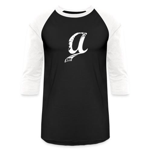 Already & Sleepy Logo White - Unisex Baseball T-Shirt