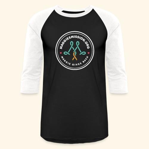 large_maggies_mission_log - Unisex Baseball T-Shirt