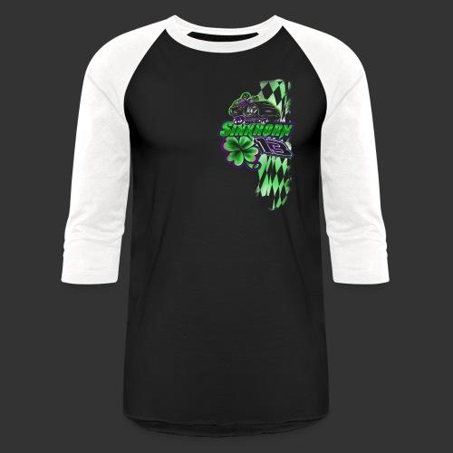 daysonfronttshirt_edited- - Baseball T-Shirt