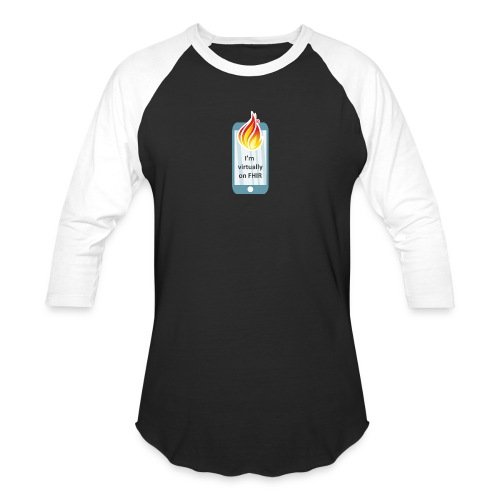 HL7 FHIR DevDays 2020 - Mobile - Unisex Baseball T-Shirt