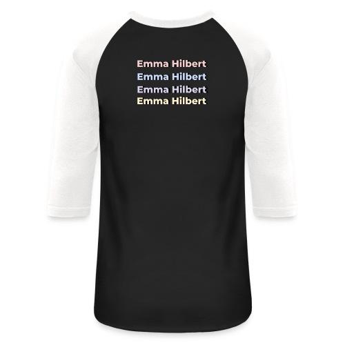 Emma Hilbert All over - Unisex Baseball T-Shirt
