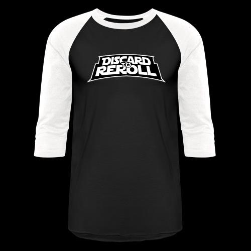 Discard to Reroll: Reroller Swag - Unisex Baseball T-Shirt