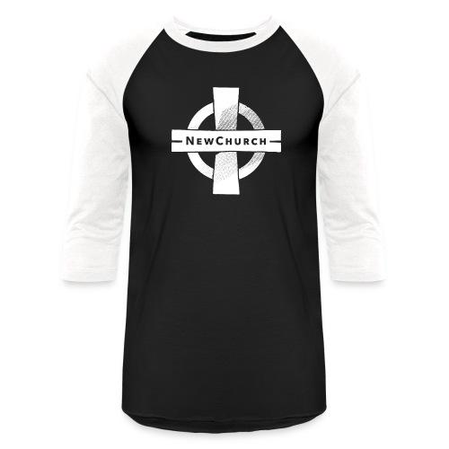NewChurch Logo I LOVE MY CHURCH - Unisex Baseball T-Shirt