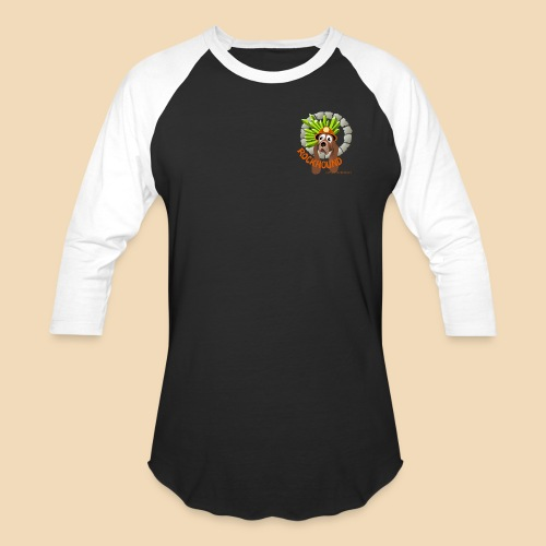 Rockhound reduce size3 - Unisex Baseball T-Shirt