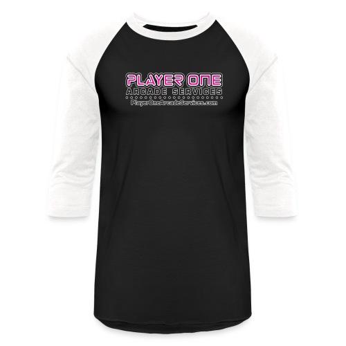 Player-One-LogoURL-SS_r2_ - Unisex Baseball T-Shirt