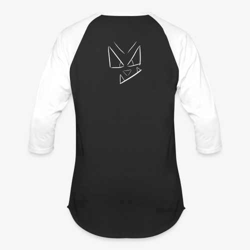 Jaydethaniel's written symbol (Transparent) - Unisex Baseball T-Shirt