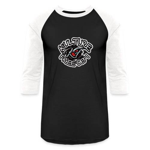 Kfree Blackliner2 - Unisex Baseball T-Shirt