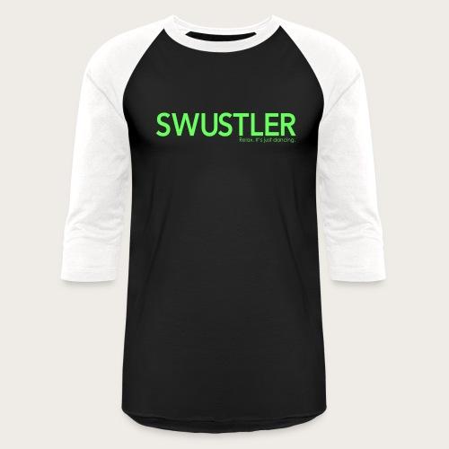 swustler neon green - Unisex Baseball T-Shirt