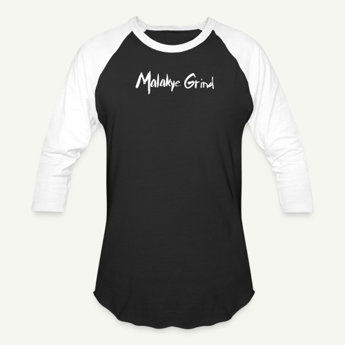 Malakye Grind Rock'n'Roll is Black Series - Unisex Baseball T-Shirt