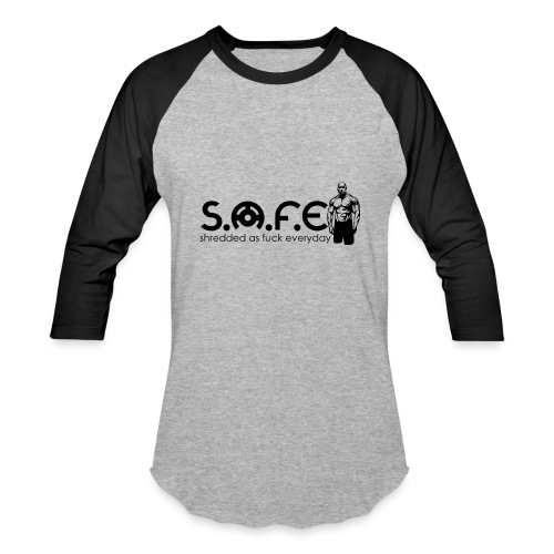 S.A.F.E (Sherdded Brand) - Baseball T-Shirt
