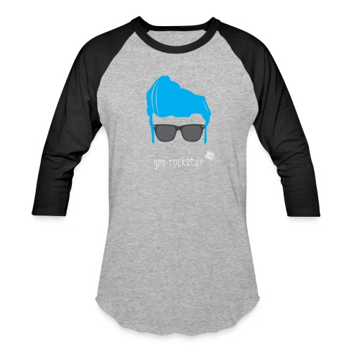 Geo Rockstar (him) - Baseball T-Shirt