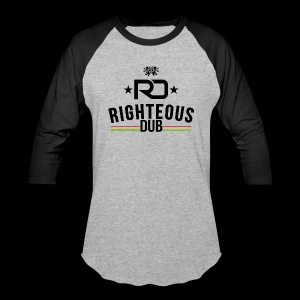 Righteous Dub Logo - Baseball T-Shirt