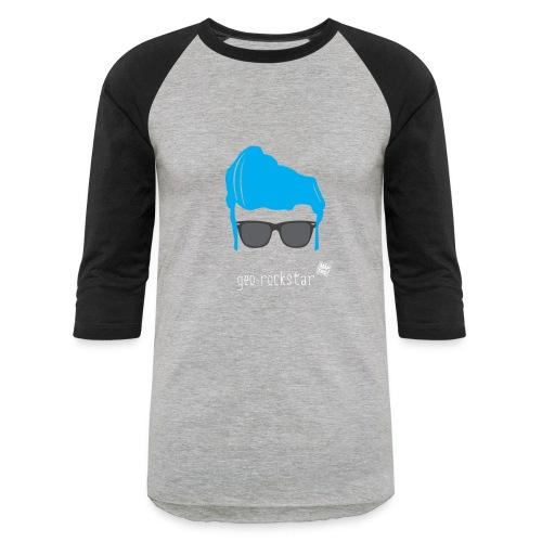Geo Rockstar (him) - Baseball T-Shirt