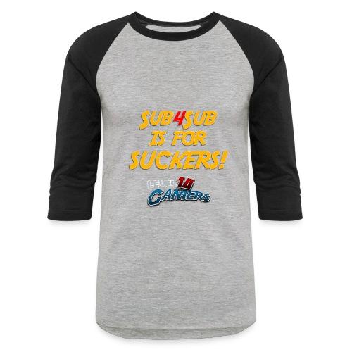 Anti Sub4Sub - Baseball T-Shirt