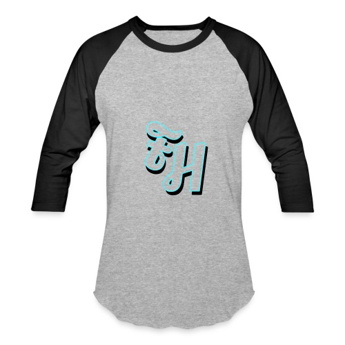 long sleeve grey shirt with limited edition logo - Baseball T-Shirt