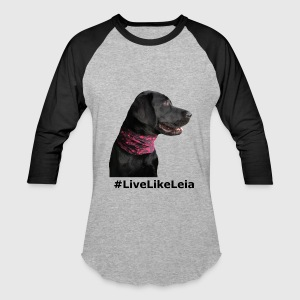 *NEW* #LiveLikeLeia Merch. - Baseball T-Shirt