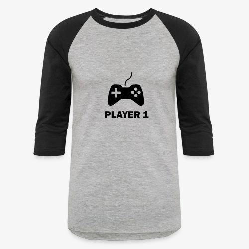 Player 1 - Baseball T-Shirt