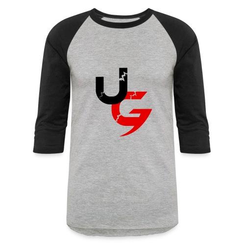 UG Black & Red Classic Logo - Baseball T-Shirt