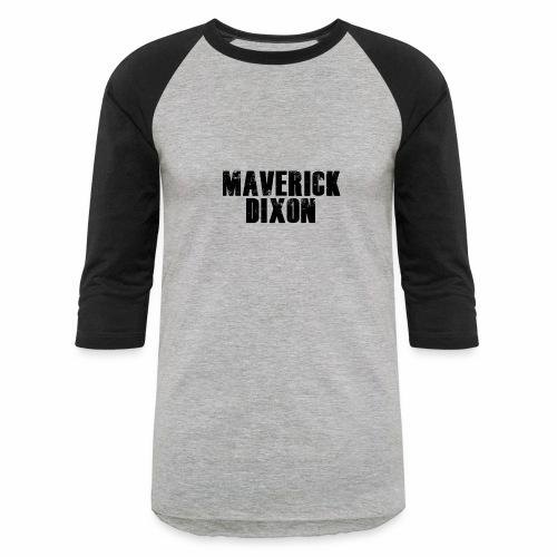 Maverick Black - Men's T-shirt - Baseball T-Shirt