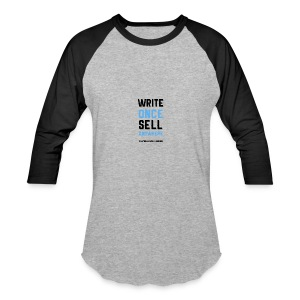 Write Once Sell Anywhere - Baseball T-Shirt