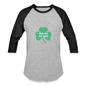 Rub me for luck - Baseball T-Shirt