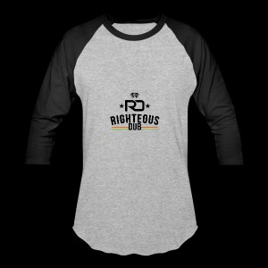 Righteous Dub Logo - Baseball T-Shirt