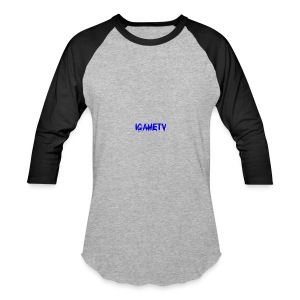 IGAME TV BLUE EDITION - Baseball T-Shirt