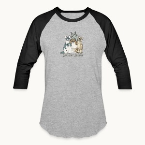 CATS - SENTIENT BEINGS - Carolyn Sandstrom - Baseball T-Shirt