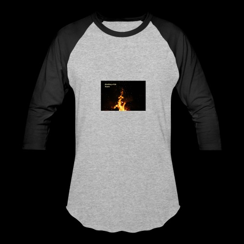the flames - Baseball T-Shirt