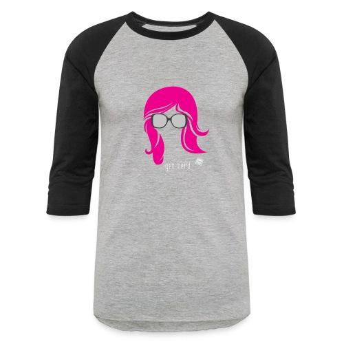 Geo Nerd (her) - Baseball T-Shirt