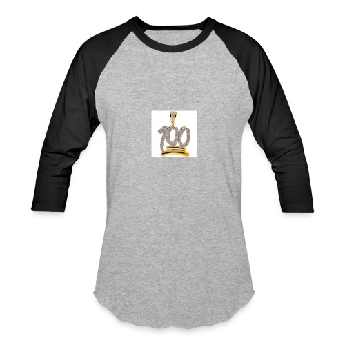 Gold 100 merch - Baseball T-Shirt